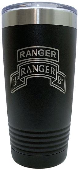 Ranger, 3rd Ranger Battalion Tumbler