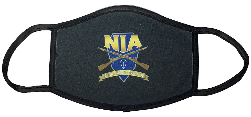 National Infantry Association Sublimatable Face Mask-Not for Medical Use