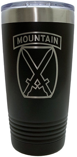 10th Mountain Division Tumbler