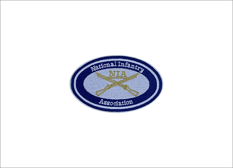 NIA Logo Colored Patch