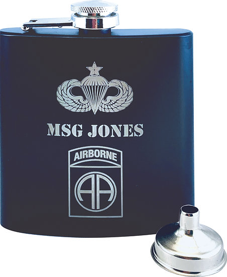 6 Ounce Flask
