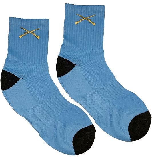 Infantry Socks  Size 9-13 Mens Vapor Short SubliSock (1 Pair)
