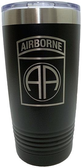 82nd Airborne Tumbler
