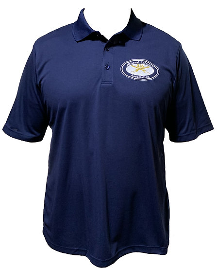 Embroidery Polo National Infantry Association Classic Navy