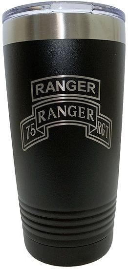 Ranger, 75th Ranger Tumbler