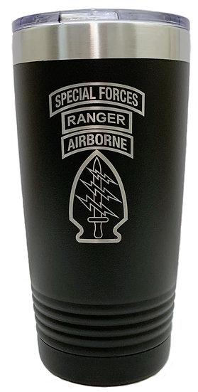Special Forces, Ranger, Airborne Tumbler