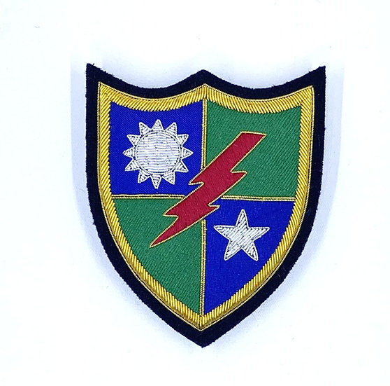 75th Ranger Regiment Embroidered  Unit Crest Patch with Pins