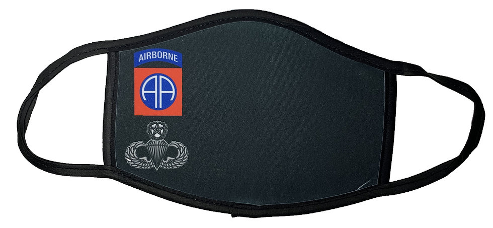 Airborne Sublimatable Face Mask-Not for Medical Use