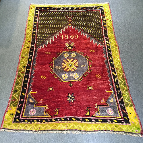 Anatolian Handwoven Carpet 1959