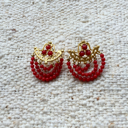 Earring Red