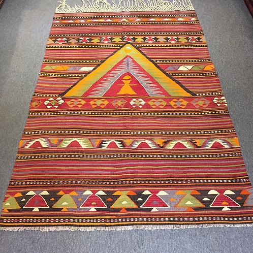 Handwoven Kilim from Central Anatolia