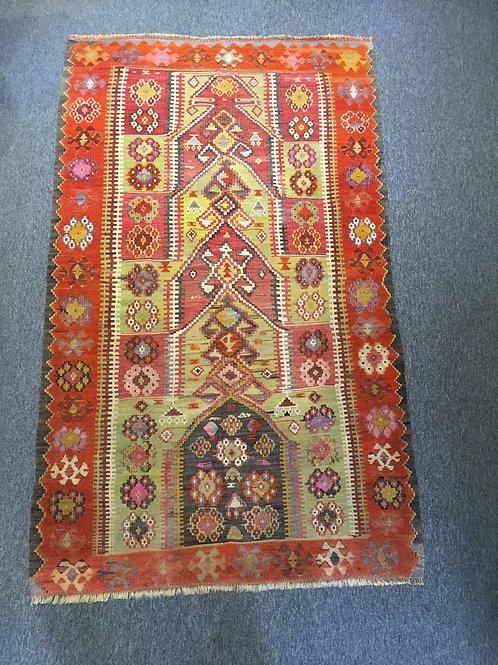 Antique Kilim from Central Anatolia