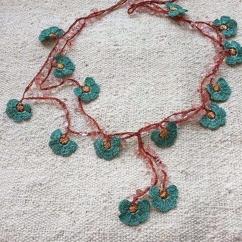 Handmade Necklace - Green