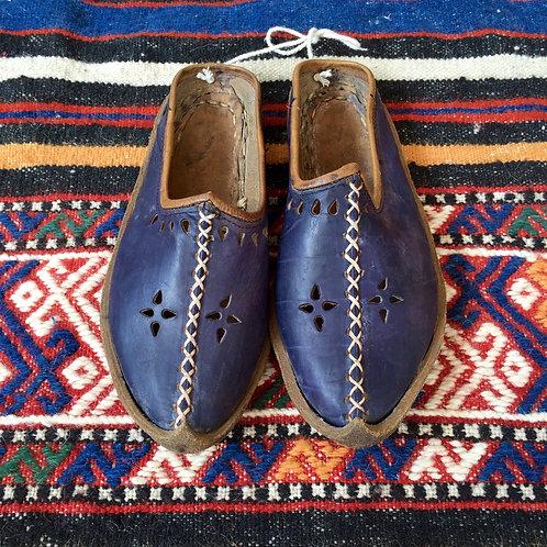 Handmade leather shoe / Yemeni 1