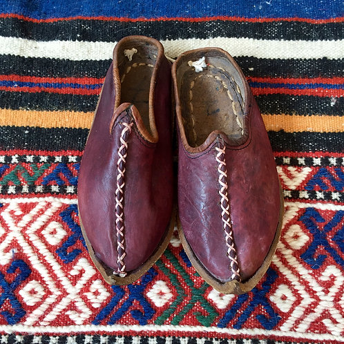 HANDMADE LEATHER SHOES / YEMENI