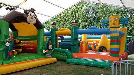 Springkastelen Summe Party For Kids