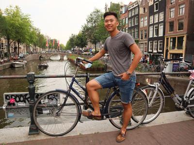 Overseasy Founder, Tim Zhang