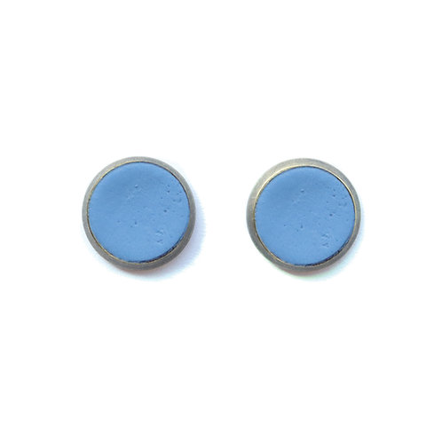 Periwinkle Columbine Earrings
