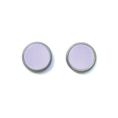 Violet Clover Earrings