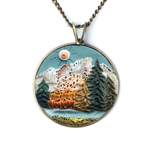 Grand Teton National Park Necklace