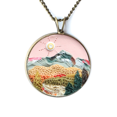 Rocky Mountain National Park Necklace