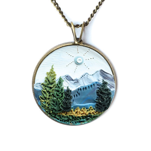 Kings Canyon National Park Necklace