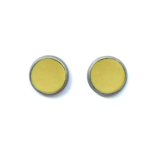 Chartreuse Root Earrings