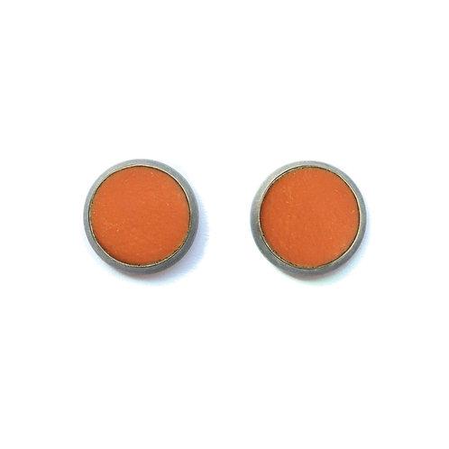 Orange Terracotta Earrings