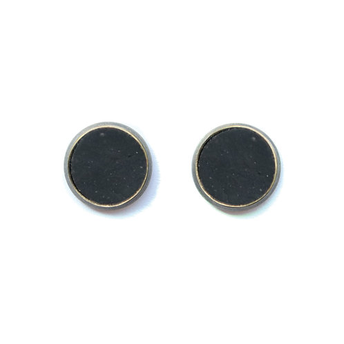 Black Midnight Earrings