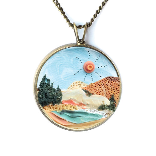 Lassen Volcanic National Park Necklace