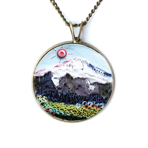 Mount Rainier National Park Necklace