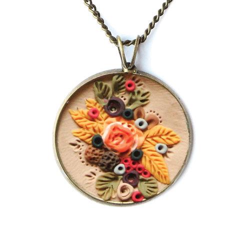 Golden Prairie Necklace