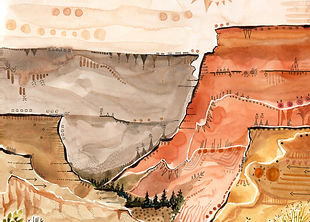 GI.NationalParkWatercolor.GrandCanyon.jp