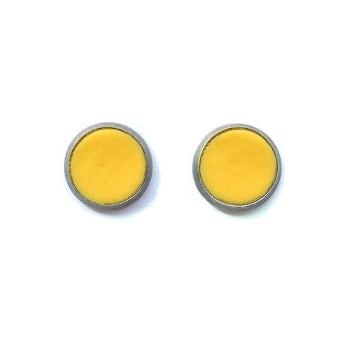 Yellow Sun Earrings