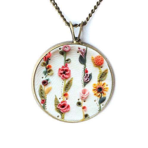 The Flower Garland Necklace