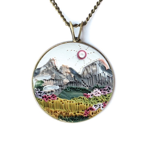 Glacier National Park Necklace