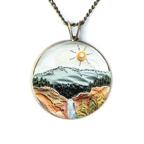 Yellowstone National Park Necklace