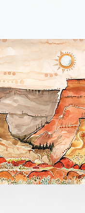 Grand Canyon National Park Art Print