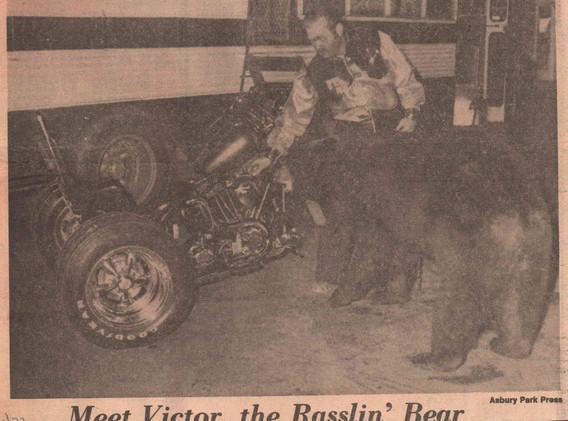 Newspaper Article - Victor the Rasslin B