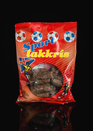 Sport lakkrís / Chocolate coated Liquorice