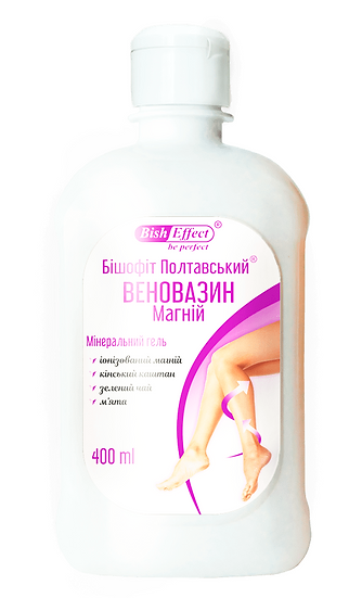 Biszofit Połtawski do Nóg Venovasin Magnez, 400ml