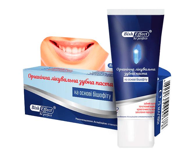 Organiczna Pasta do Zębów z Biszofitem, 100g