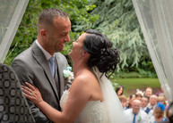 I now pronounce you...Wedding at Newton House Barns, South Derbyshire.