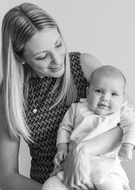 Baby Photoshoot. By Paul Spencer, Swadlincote portrait photographer.