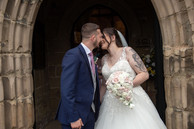 Kiss on the Church Steps