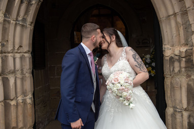 Kiss on the Church Steps