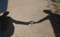 Fun wedding photo idea - shadow heart
