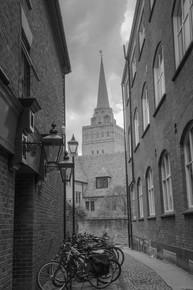 Oxford - bike alley