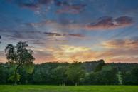 Sunset at Soberton