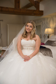 Bride ready for her big day